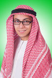 Junger arabischer Mann Stockbild