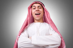 Junger arabischer Mann Lizenzfreies Stockfoto