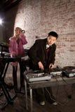 Junger Asiat DJ Lizenzfreies Stockfoto