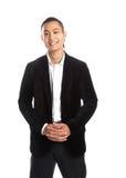 Junger asiatischer Geschäftsmann Lizenzfreies Stockbild