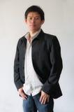 Junger asiatischer Geschäftsmann Lizenzfreies Stockfoto