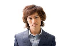 Junger asiatischer Geschäftsmann stockbilder