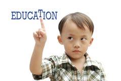 Junger asiatischer Junge Lizenzfreie Stockfotos