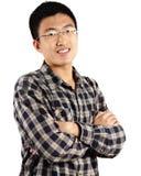 Junger asiatischer Mann lizenzfreie stockfotos