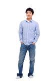 Junger asiatischer Mann Stockfotografie