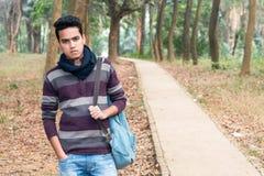 Junger asiatischer Mann Stockbild