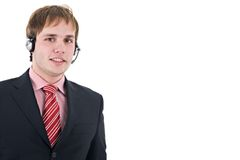 Junger Assistent stockfoto