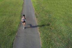 Junger Athletenbetrieb Lizenzfreies Stockfoto