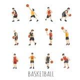 Junger Basketball-Spieler stock abbildung