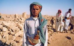 Junger Beduine stockbild
