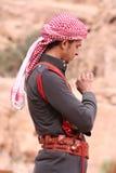 Junger beduinischer Mann Lizenzfreies Stockbild