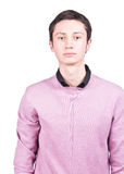 Junger beiläufiger Mann des Portraits Lizenzfreies Stockfoto