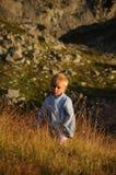 Junger Bergsteiger Lizenzfreies Stockbild