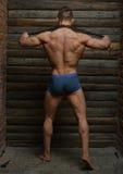 Junger Bodybuilder Lizenzfreie Stockbilder