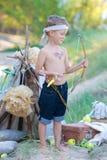 Junger Bogenschütze Stockbilder