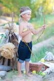 Junger Bogenschütze Lizenzfreies Stockfoto