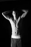 Junger Boxerkämpfer Lizenzfreies Stockfoto
