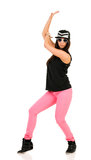 Junger Brunettehip-hop-Tänzer Lizenzfreies Stockbild