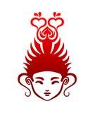 Junger Buddha stock abbildung