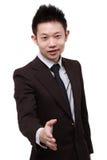 Junger chinesischer Geschäftsmann Lizenzfreies Stockbild