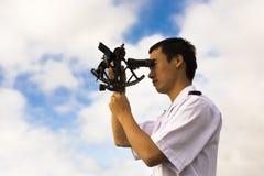 Junger chinesischer Navigator Lizenzfreies Stockfoto