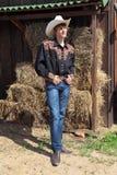 Junger Cowboy Lizenzfreie Stockfotos