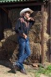 Junger Cowboy Stockfotografie