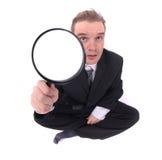 Junger Detektiv lizenzfreie stockfotografie
