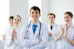 Junger Doktor Lizenzfreie Stockfotos