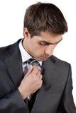 Junger eleganter Mann Lizenzfreies Stockfoto