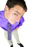 Junger erwachsener Geschäftsmann lizenzfreie stockfotos