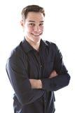 Junger europäischer Geschäftsmann Lizenzfreies Stockfoto