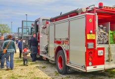 Junger Feuerwehrmann Stockfotografie