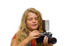 Junger Fotograf Lizenzfreie Stockfotos