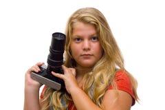 Junger Fotograf Lizenzfreie Stockfotografie
