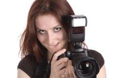 Junger Fotograf Stockbilder