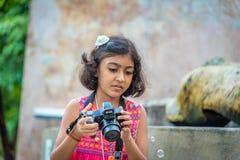 Junger Fotograf Stockfotografie