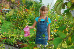 Junger Gärtner Stockfotografie