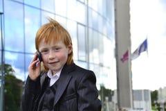 Junger Geschäftsmann Stockfotos