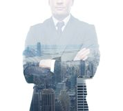 Junger Geschäftsmann Lizenzfreie Stockbilder