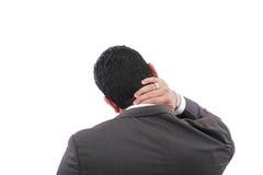 Nackenschmerzen Lizenzfreie Stockfotos