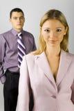 Junger Geschäftspersonal Lizenzfreies Stockbild