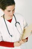 Junger Gesundheitsvorsorger Stockfotos