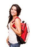 Junger glücklicher Student lizenzfreies stockfoto