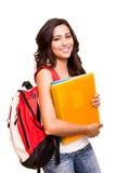 Junger glücklicher Student Lizenzfreies Stockbild