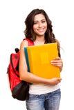 Junger glücklicher Student Stockbilder