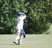 Junger Golfspieler Lizenzfreies Stockfoto