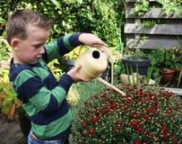 Junger Gärtner Lizenzfreies Stockfoto
