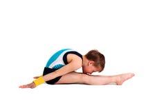 Junger Gymnast stockbilder