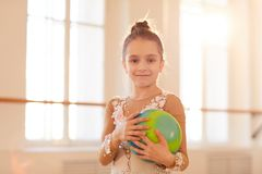 Junger Gymnast lizenzfreies stockfoto